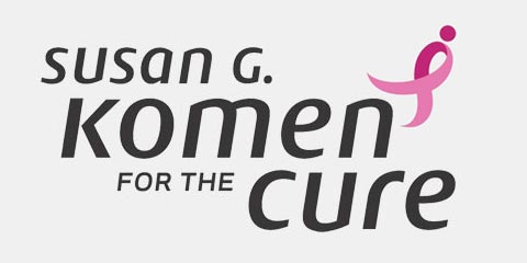 Proud supporter of Susan G. Komen for the Cure